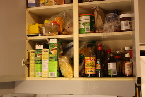 Look at my cupboards...