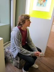 IMG_0924: Joar at Norrk�ping Museum
