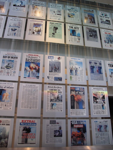 9/11 Front Pages