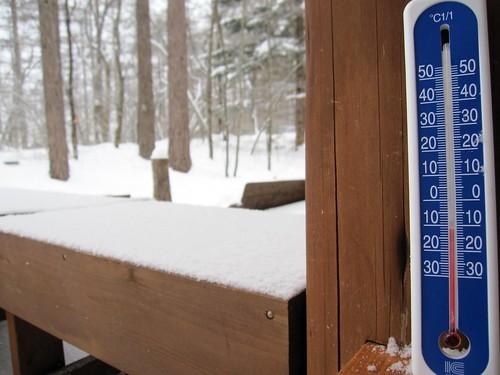 氷点下11度 2010年2月6日8:22am by Poran111