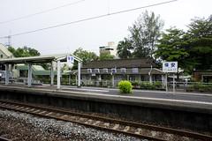 台鉄保安(ばおあん)駅にて