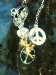 Necklace (Lucky Jinks) Tags: music sign rose de necklace peace heart notes rosa dotted note whole fairy staff half faerie eigth chalice