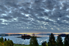 Magic Land (...Ashish...) Tags: sunset panorama canon finland rebel colorful raw day cloudy 24mm magical stitched hdr jetlagged hugin instantfav xti theunforgettablepictures lakekallavesikuopio