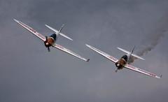 Twister Duo Aerobatic Display (Chris McLoughlin) Tags: england aircraft aviation yorkshireairmuseum sonyalphaa300 chrismcloughlin twisterduoaerobaticdislay