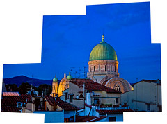 firenze di sera dal terrazzino (Marco R. Macr) Tags: night florence di firenze feed sera landascape