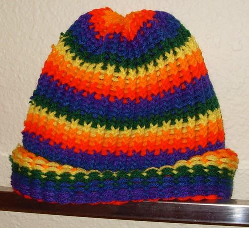 rainbow beanie 1 - 4