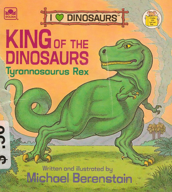 King of the Dinosaurs Front Cover