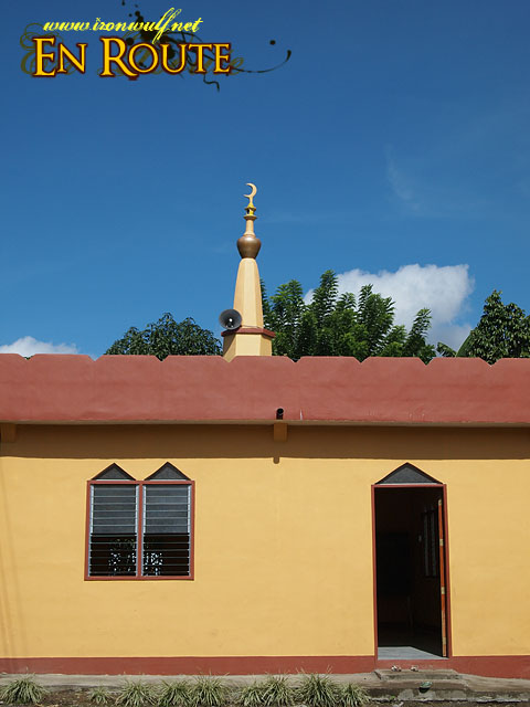 A Mosque at Lake Sebu