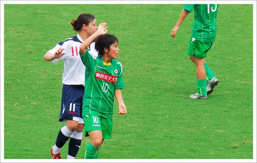 岩渕真奈・プレー中@日テレ・ベレーザ VS INAC神戸_201008
