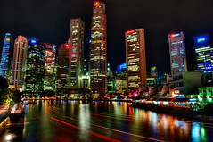 Singapore River Festival (Sprengben [why not get a friend]) Tags: world china city wedding summer sky music newyork paris art japan skyline clouds skyscraper observation hongkong tokyo bay harbor amazing rainbow nikon singapore asia ship shanghai sundown artistic gorgeous awesome watch hamburg elevator style casino divine international shoppingmall stunning metropolis charming foreign fabulous hdr englandlondon marinabay engaging travelphotography d90 photomatix singaporeflyer travellight d3s sprengben wwwflickrcomphotossprengben sprengbenurban sprengben2010singaporerobocupgoetheschuleasienasiatravel boatsands formulabay