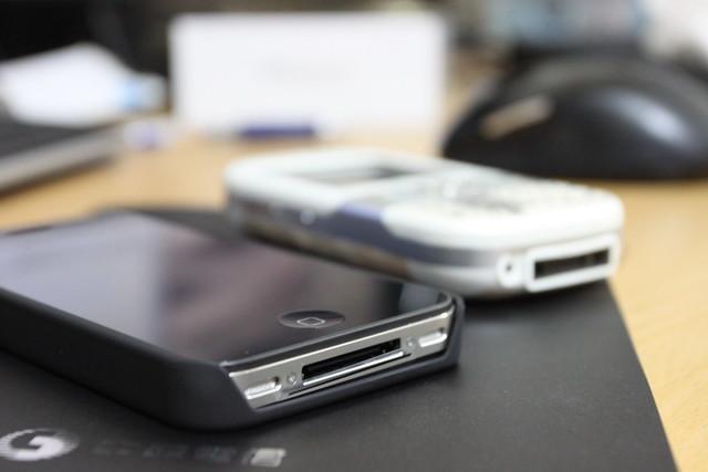 iPhone4 & Palm Centro