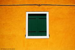 Isola della Guidecca (Venezia) (ruedavril) Tags: italy window yellow wall jaune italia shutters venise venezia fentre italie faade volets