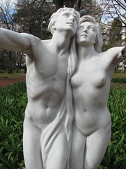 Statues of Buenos Aires.