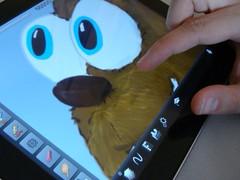 Mit dem iPad gezeichnet
