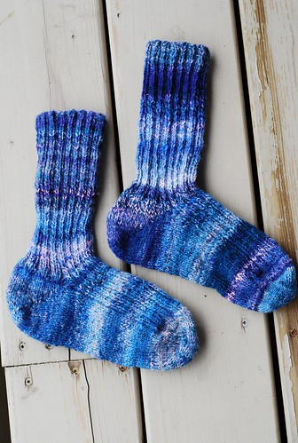 unfilled handspun socks
