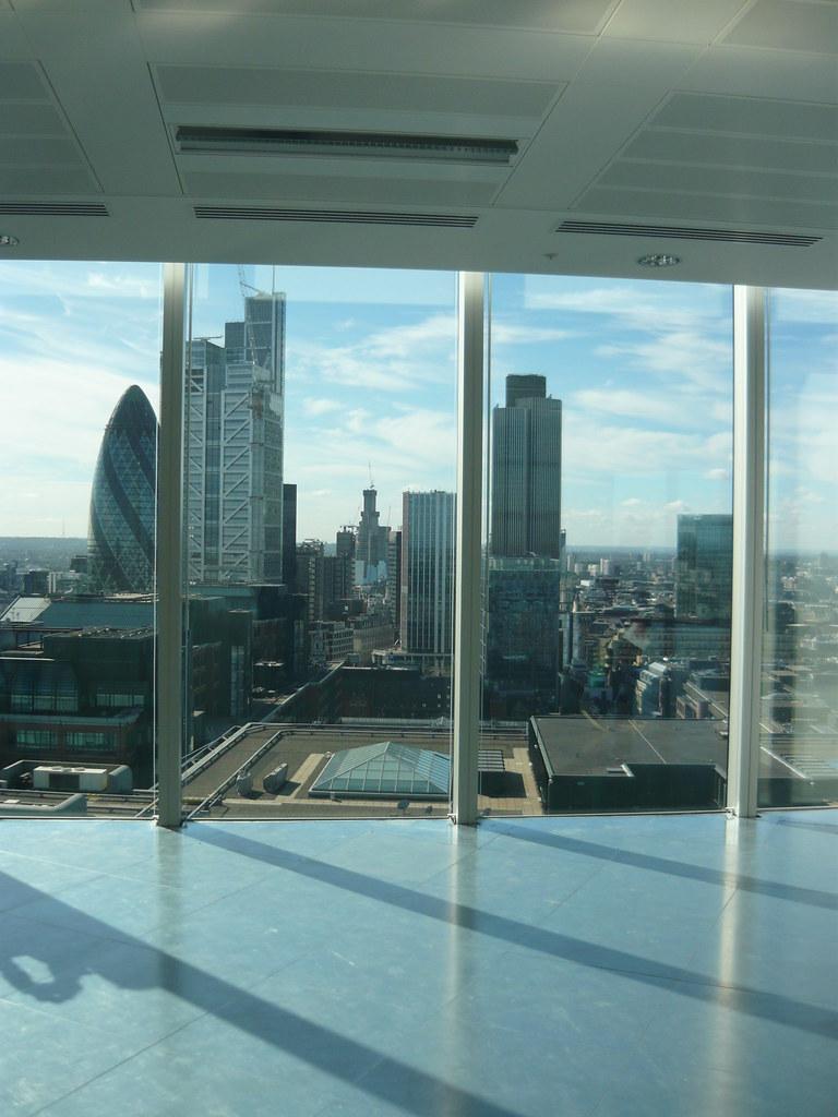 17th floor - Broadgate Tower - Open House 2010