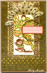 Wild Things Birthday card