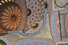 Blue Mosque, Istanbul (digi_maven) Tags: turkey mosaictiles decorative mosaics istanbul mosque bluemosque ornamentation