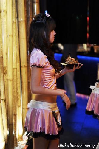 Robot Sushi Show Girl