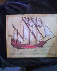 Photo-0070 (AEGEOTISSA) Tags: wood art τέχνη pyrography areli ζωγραφική πυρογραφια