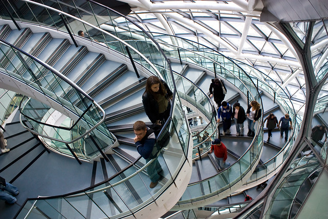 London City Hall Spiral Stairs 2