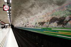 stockholm t-bana (erico.amorim) Tags: art underground metro stockholm tube suecia tbana hotorget