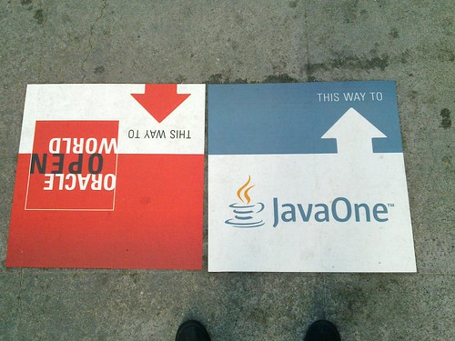 This way to JavaOne