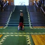 Ontario Legislative Building Headstand