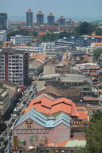 View from hotel room, Melaka Malaysia