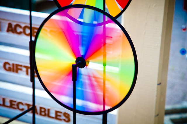 Colourfull Pinwheel [EOS 5DMK2 | EF 24-105L@95mm | 1/13 s | f/5.6 | ISO400]