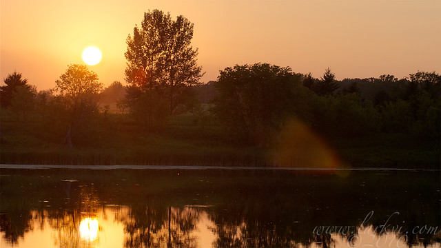 Summer Sunset, Collegeville, Minnesota, 2010