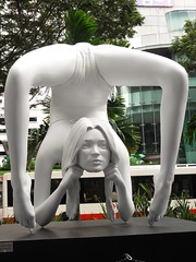 """Art  Beyond Limits"" - Myth Fortuna (bronze) by Marc Quinn, #2 (RedTaurusOne) Tags: sculpture art opera singapore gallery orchard walkway installation marc quinn mandarin beyond fortuna myth limits"