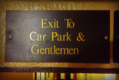 Day 120 - Exit to Car Park