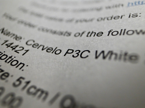 Cervelo P3C White