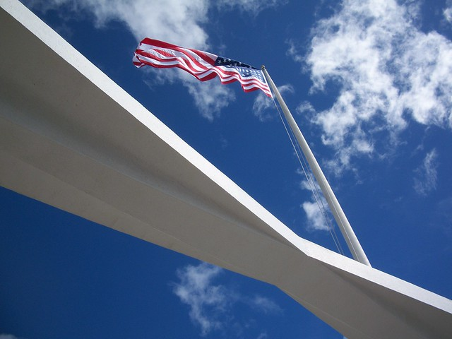 USS Arizona Memorial, Oahu Hawaii