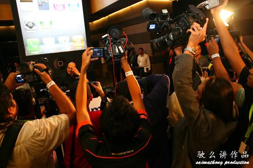 Sandip Das with media