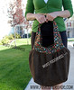 weird poochiness (pinksuedeshoe) Tags: brown bag purse tote amybutler birdiesling pinksuedeshoe