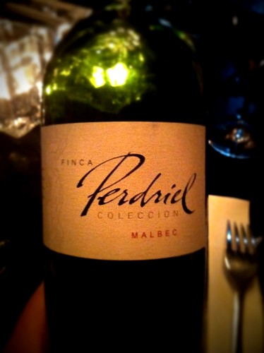Malbec at Gaucho