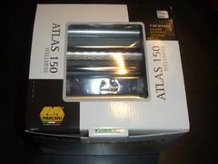 Kassen den nye pastamaskine kom i