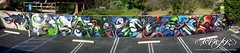 Graffiti (Greg Simkins) Tags: ca streetart graffiti artwork paint costamesa flagshipstore todiefor deph craola maxx242