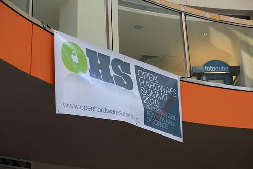 Open Hardware Summit Banner