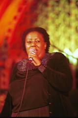 Sibongile Khumalo from South Africa Music on the Line Union Chapel Islington London Oct 2000 006 (photographer695) Tags: sibongile khumalo from south africa music line union chapel islington london oct 2000