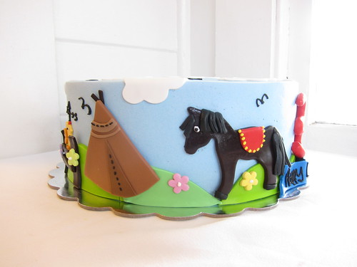 Animals Farm Birthday Cake