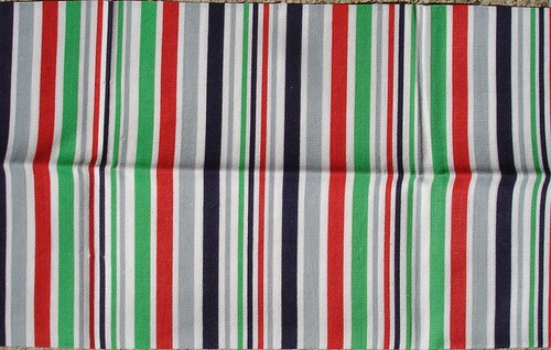fun stripe vintage fabric