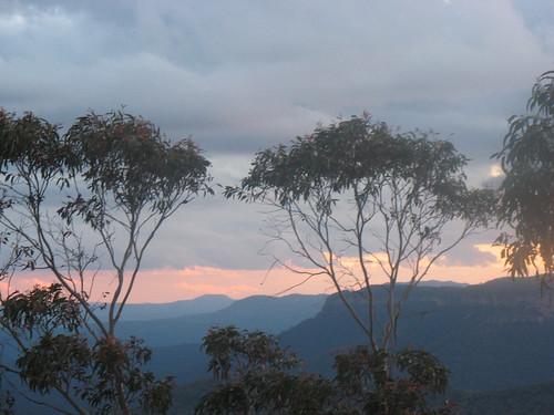 Blue Mountains Sunset