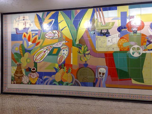 Artwork, Lisbon metro