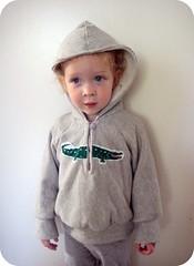 kcwc day 5 - alligator hoodie one (mon.ami) Tags: hoodie alligator sweathshirt kwcw kidsclothesweekchallenge