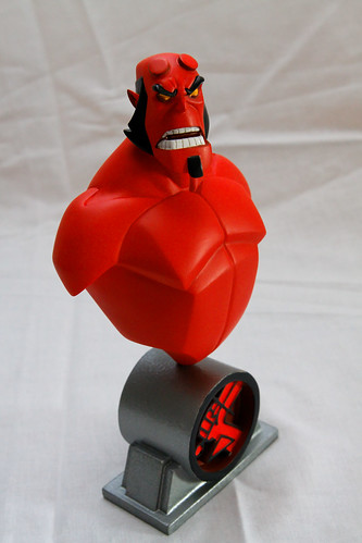 statue toy geek action scene figurine limited hellboy pekabul