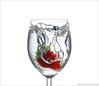 Strawberry water splash - Explore [FrontPage] (pascalbovet.com) Tags: water glass fruit experimental highkey splash highspeed lesson3 highspeed101