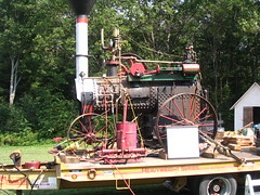 Steam Tractor I (oliva732000) Tags: field farm pipe engine newhampshire nh days steam piston pressure muster sutton